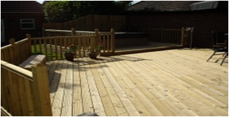 security and decking lighting in bicester